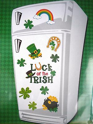 """St. Patrick's Day """"luck Of The Irish"""" Refrigerator Magnets"""