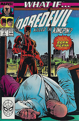 WHAT IF... #2  Aug 89  Daredevil Killed The Kingpin? - 2nd Series
