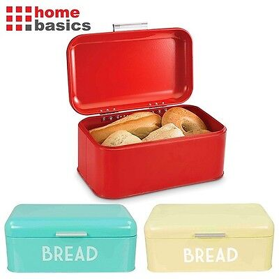 Home Basics® Stainless Steel Retro Style Bread Box