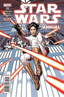 Star Wars Annual #2 1st appearance of Pash Davane Marvel 1st Print NM