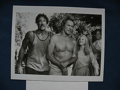 Any Which Way You Can Clint Eastwood 8X10 B&W movie w/release letter