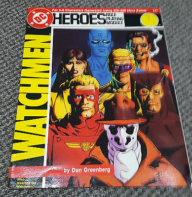 DC Heroes Role Playing Module - Watchmen - Mayfair Games RPG 227