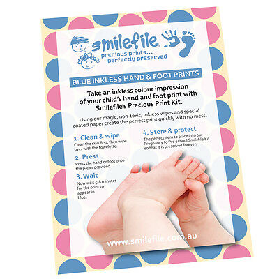 Precious Prints Inkless Baby Hand & Footprints Kit