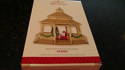 2013 Hallmark Nostalgic Houses and Shops Series Gazebo Ornament