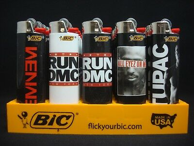 6 Bic Lighters Rap Music Eminem Marshall Mathers Slim Shaddy Run DMC Out Kast