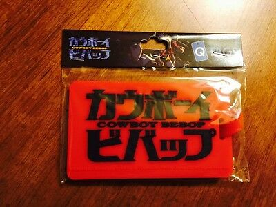 Loot Crate Rebels Rogues Cowboy Bebop Luggage Tag logo New qmx q tag funimation