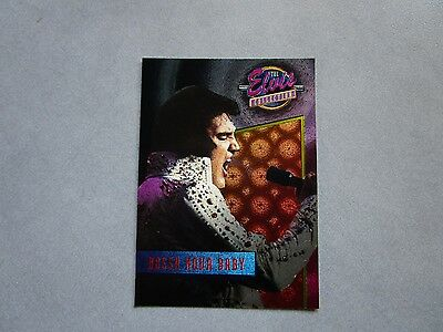 Elvis Presley BOSSA NOVA BABY Series 3 Dufex Chase card 36 River Group Card Life