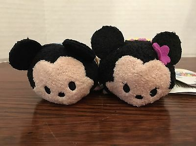 Authentic US Disney Mini Tsum Tsum Hawaii Mickey and Minnie Mouse NWT!