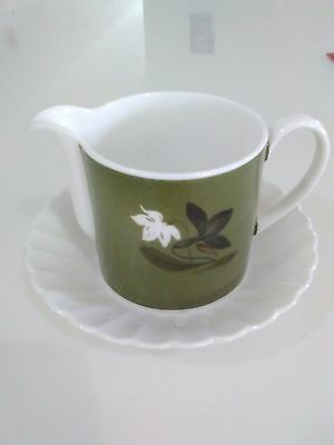 Susie Cooper bone china jug with saucer