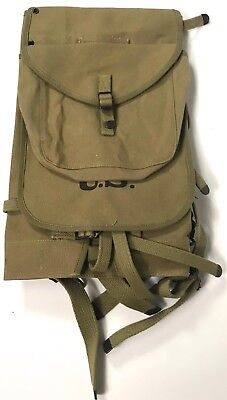 Wwii Us M1928 Haversack Combat Field Pack-Od#3