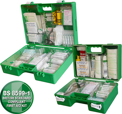Industrial High-Risk First Aid Kit BS 8599 Small,Medium & Large K3341