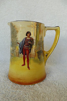 "Vintage Royal Doulton Shakespeare Series Ware Small Jug : ""Romeo"" 1930's"