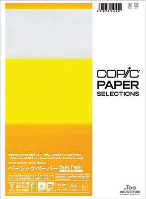 MIJ .Too Copic Paper Selection Basic Paper Drawing paper for Copic markers Manga