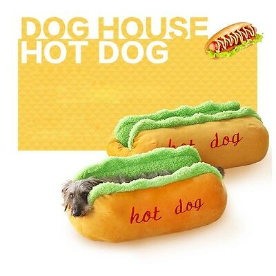 Dog Bed Cute Pet Cat House Soft Kennel Mat Warm Puppy Cushion Pad New Small Cozy