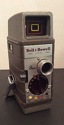 Vintage Bell & Howell Two Fifty Two 8mm Movie Camera (1950's)