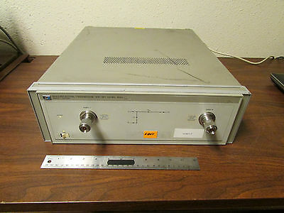 HP Agilent Keysight 8512A Reflection Transmission Test Set 500MHz - 18GHz Tested