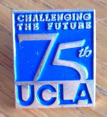 Challenging The Future UCLA University Of California 75th Pin Rare Original (D2)