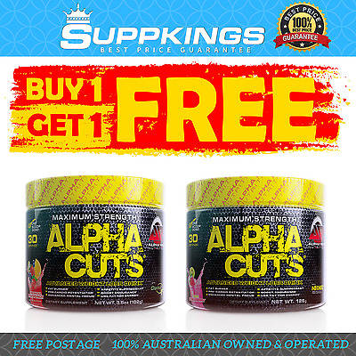 Buy One Get One Free Alpha Cuts By Alpha Pro Nutrition Thermogenic Powder