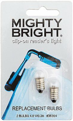 Mighty Bright clip on Reader Replacement Light Bulbs 2