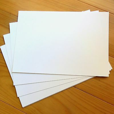 """PREMIUM BLANK 280 GSM A4 CARD x 10 """"SMOOTH WHITE"""" - NEW"""