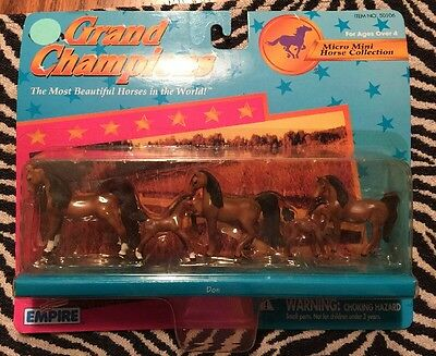 Grand Champions Micro Mini Horse Collection Item Number 50106 New