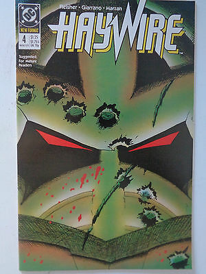 "DC Comics "" HAYWIRE "" n° 4 VO (US) Winter 1988 new format"