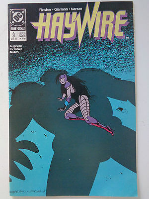 "DC Comics "" HAYWIRE "" n° 9 VO (US) MAY 1989 new format"