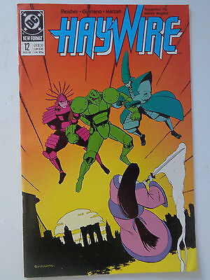 "DC Comics "" HAYWIRE "" n° 12 VO (US) Aug 1989 new format"