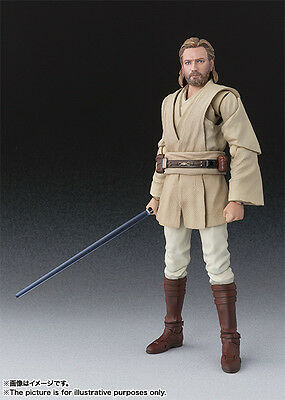 BANDAI  S.H.Figurarts Obi-Wan (Attack of The Clones)  Star Wars Action Figure