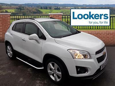 2013 Chevrolet Trax 1.7 VCDi LT 5dr Diesel white Manual