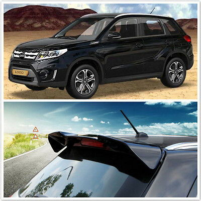 FIT FOR SUZUKI Vitara 2016 2017 Painted Factory Style Rear Spoiler Wing Black