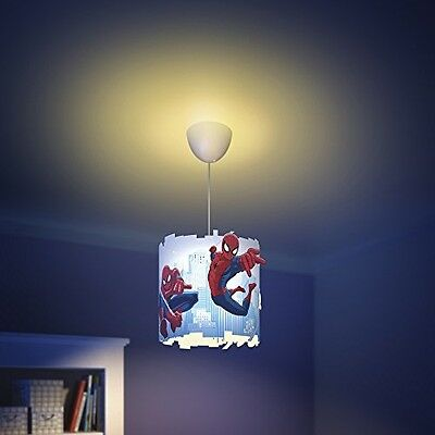 Philips Marvel Spider Man Children's Ceiling Pendant Lightshade Lampshade NEW