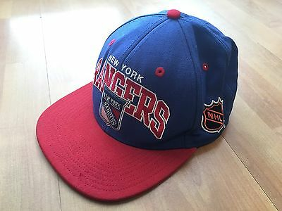 NEW YORK RANGERS NHL CAP SNAPBACK HAT Mitchell & Ness Ice Hockey