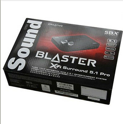 Creative Sound Blaster X-Fi Surround 5.1 Pro USB Audio System with SBX