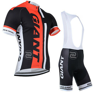 ZV11 NEW Men's Sports Cycling Tops Short Sleeve Jersey Bib Short Tights Outfits