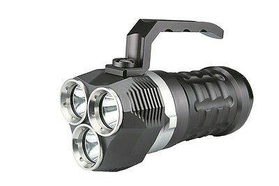 Underwater Rechargeable Waterproof Dive Light LED 30 Watt with Batteries