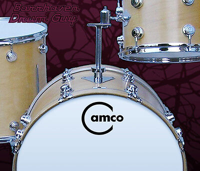 Camco, Vintage, Repro Logo - Adhesive Vinyl Decal, for Bass Drum Reso Head