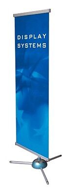 80*200Cm Retractable Banner Stand Trade Show Display Free Ship without banner