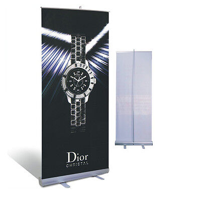 Retractable Standard Roll Up Banner Stand Without Banner