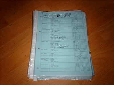 Thatcham Parts Guide Renault 4 20 30 Fuego inc Turbo 11