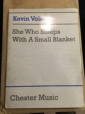 She Who Sleeps With A Small Blanket Kevin Volans