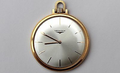 LONGINES original pocket watch 18K yellow gold 41mm ultra thin (Great condition)