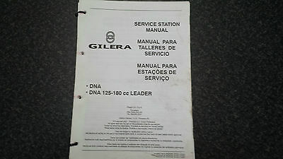 Gilera Dna 125-180 Service Station Manual