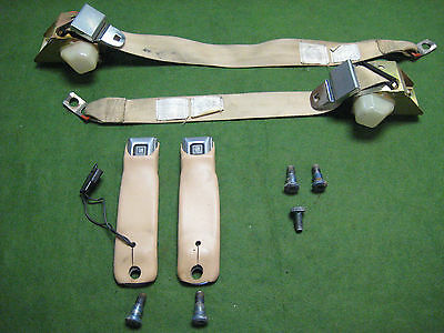 Original 1978-1982 Corvette LH & RH Seat Belt Set Pair