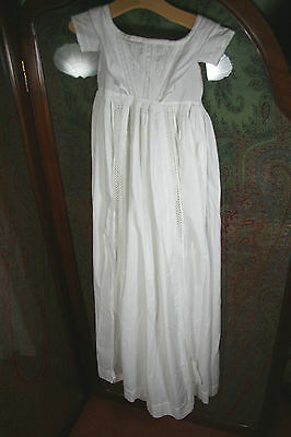 Antique Baby Gown c1860 (#28)