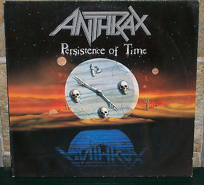 ANTHRAX - Persistence of time LP Island Records Megaforce 1990