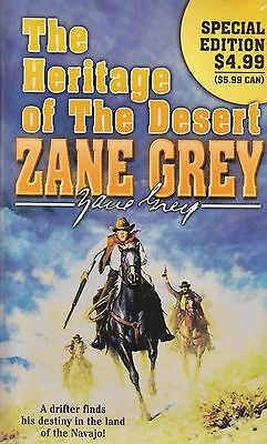 The Heritage of The Desert BRAND NEW BOOK by Zane Grey (Paperback 2009)