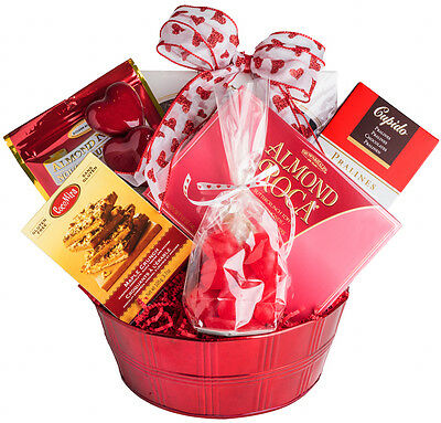 FATHERS DAY graduation Gift Basket Nougat, Pralines, Toffee, Chocolate & Candy