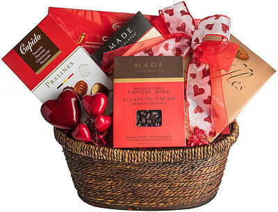 FATHERS DAY  thank you Gift Basket Truffles, Cocoa Nibs, Pastilles & Pralines