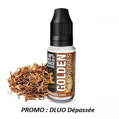 Lot de 10 e liquide GOLDEN HEDGES ICE Fabriqué en France 11mg